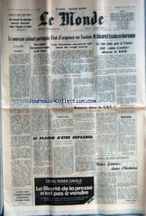 MONDE (LE) [No 10263] du 28/01/1978 - LE...