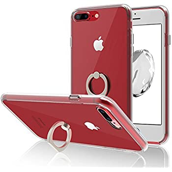 coque iphone 8 bague rotatif