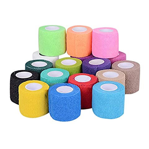 CHIC-CHIC 6 Pack 3 Inch Cohesive Bandage Elastic Self Adherent