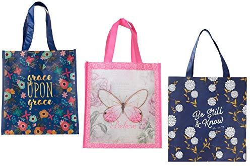 Christian Art Gifts Damen Handtasche mit religiösem Motiv, inspirierend, 3 Stück - Zubehör Christian Handtaschen