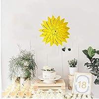 OUTANG Flower Wall Sticker 3D Flower Wedding Decoration Wall Decoration DIY Paper Flower