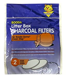 Booda Cleanstep Cat Litter Filter - Pack of 2 from Booda