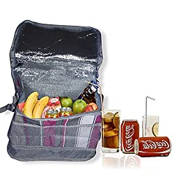 Insulated Cooler Bag Folding Bag Camping Picnic Lunch Food milk Storage organizer bag Thermal Bag
