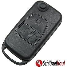 Mercedes Benz llaves 3 botones Carcasa en Blanco hu39 Auto mando a distancia nuevo
