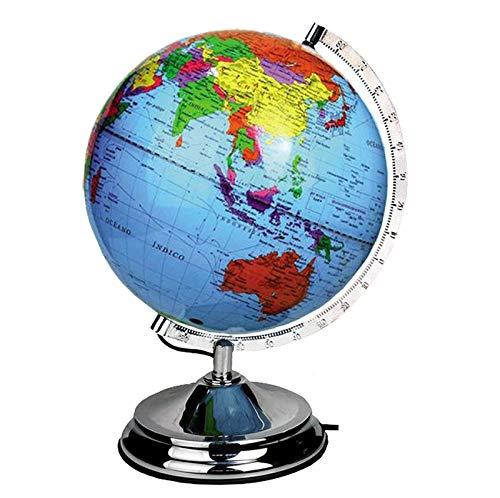 Detaillierter Globus / Leuchtglobus für Kinder und Entdecker | Kartographie