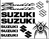 Set Stickers Suzuki Bandit 600 900 1200 Aufkleber ca. 30 x 20 Aufkleber Bike Motorrad Felge Felgen Innenrandaufkleber