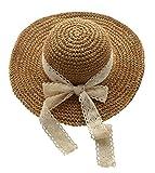 Urbancoco Damen klappbare Kappe flexible Sommer Strand Sonne Hüte (#2 Khaki)