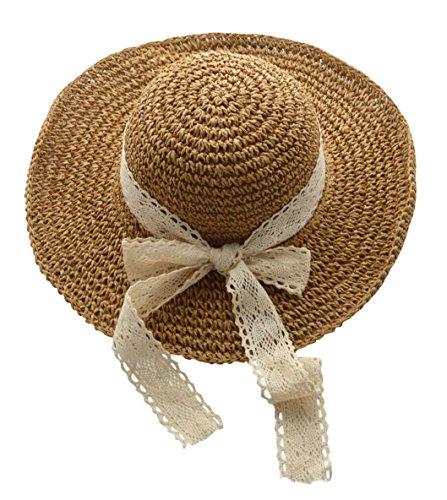 pbare Kappe flexible Sommer Strand Sonne Hüte (#2 Khaki) ()