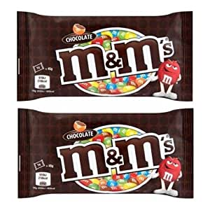 M&M'S Milk Chocolate Candy In Sugar Shell,( 45 Grams*Pack Of 2)