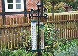 Gartenthermometer mit Fahne + Regenmit