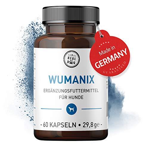 Real Dog Wumanix Vor Bei & Nach Wurmkur - Vor Bei & Nach Wurmbefall Für Deinen Hund - Hohe Akzeptanz bei Hunden -100% natürlich - Herstellung In Deutschland