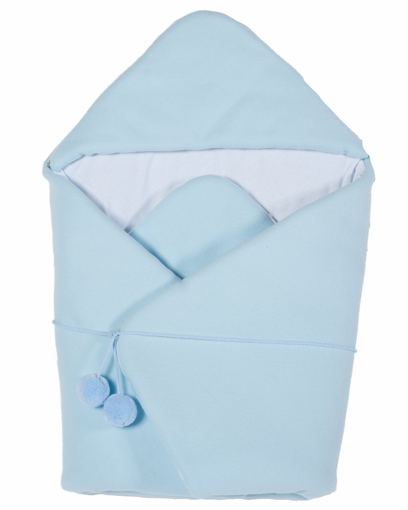 """Brand New Wicker Crib Moses Basket Cot""""Lulu Tre"""" from MJmark (Blue)"""