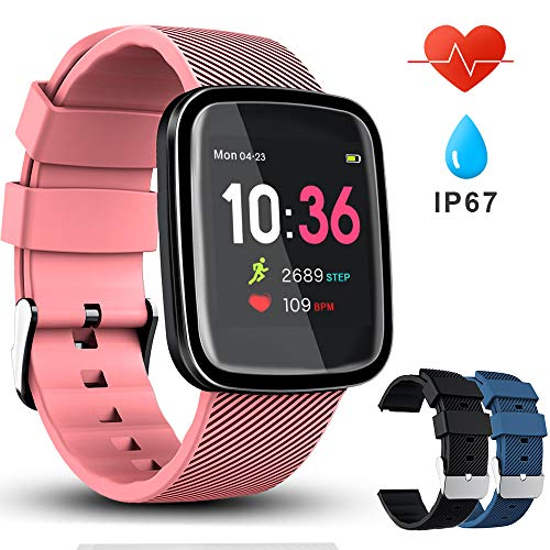VASCOO SmartWatch, Reloj Inteligente con Impermeable 67,...