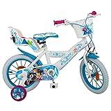 GUIZMAX Fahrrad 14 Pouces Frozen Disney Lizenz Die Königin der Schnee B