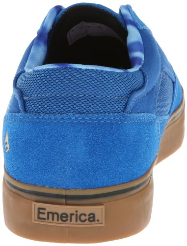 Emerica  The Provost, Chaussures de skateboard pour homme Multicolore Mehrfarbig (Blau/Weiß/Kaugummi) Multicolore - Mehrfarbig (Blau/Weiß/Kaugummi)