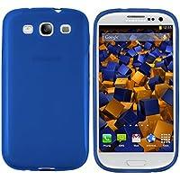 mumbi TPU Skin Case für Samsung Galaxy S3 / S3 Neo Silikon Tasche Hülle transparent blau