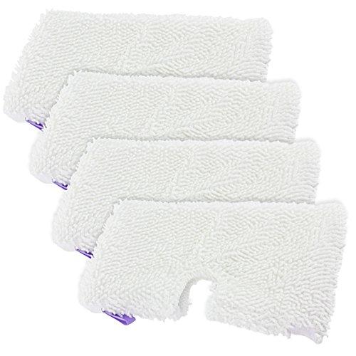 Pocket Pads für Shark S2901S3455S3501S3502S3601s3701S3901Dampfreiniger Mop (4Stück, Lila) ()