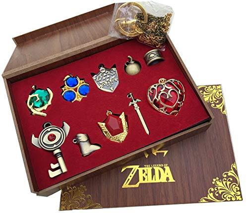 Mesky The Legend of Zelda Llaveros 10 Piezas Caja