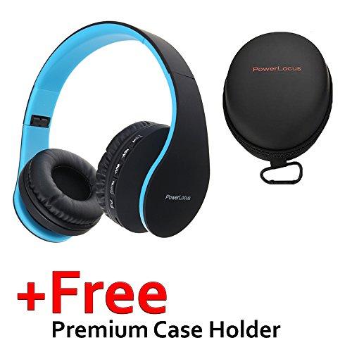 Cuffie Bluetooth PowerLocus Wireless Senza Fili Over-Ear Stereo Pieghevoli  Auricolari 731eb2012a8b