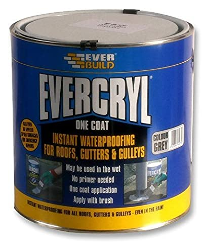 ROOF REPAIR, EVERCRYL, GREY, 2.5KG EVCGY02 By EVERBUILD by Everbuild