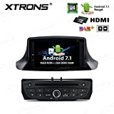 Xtrons Android 7.1 Car stereo radio DVD Player HDMI Uscita 2 G RAM 16 G ROM Quad Core 17,8 cm HD touch screen digitale In-Dash video Player GPS Screen mirroring per Renault Megane III Fluence