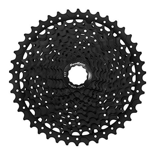 SunRace MS8Cassette per Bicicletta, Nero, 11V/11–46T