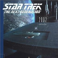 Star Trek: The Next Generation: 2002 Calendar (Star Trek: Calendars)