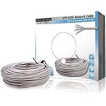 König CMP-UTP6R100 - Cable de red UTP categoría 6 en bobina, 100 m