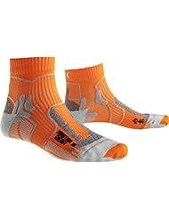 X-Socks Hombre unidad calcetín marathon Energy, hombre, X-SOCKS MARATHON ENERGY, Orange/Pearl Grey