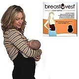 Breastvest Breast Vest Top Extra Small, Black (UK 8-10, EUR 36, US 4)