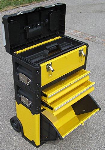 Preisvergleich Produktbild Metall Werkzeugtrolley XL Type B305ABD -> jetzt neu mit Schubladenverriegelung und Schloss von AS-S