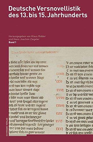 Deutsche Versnovellistik des 13. bis 15. Jahrhunderts: Bände 1.1–4