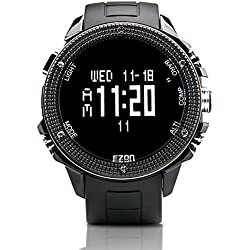 EZON H501A01 Men's Hiking Watch with Electronic Compass Barometer Altimeter Alarm Multi-functional Climbing Outdoor Sports Watches