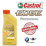 Kit d'entretien huile CASTROL EDGE PROFESSIONAL LL04 5W30 8LT 4 FILTRES BOSCH BMW 330D E90 E91 du 2005 AL 2011