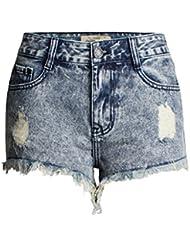 Tissu En Denim À Taille Haute Pour Femme Jeans De Loisirs Jeu De Fiançailles Vêtements De Poche Habits De Poche Trous Faux Pantalons Chauds