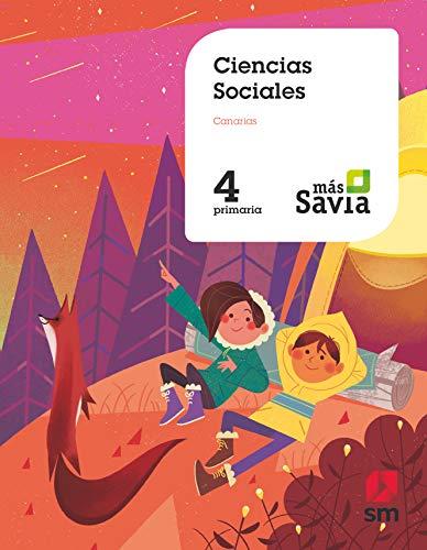 Ciencias Sociales. 4 Primaria. Más Savia. Canarias