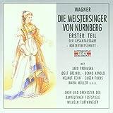 Wagern: Die Meistersinger von Nürnberg (Gesamtaufnahme 1. Teil) (Aufnahme Bayreuth 1943) -