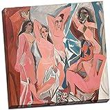 Pablo Picasso Les demoiselles d 'Avignon Leinwanddruck Bild Wall Art Großer 50,8x 50,8cm