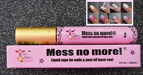 Mess No More! Liquid Tape for Pretty Nails 10 ml(.35 oz)