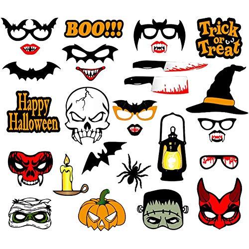 Minions Boutique Halloween Dekoration Photo Booth Props Maske Fuer Kinder Maenner Photobooth Hexe Fledermaeuse Party Zubehoer 10#