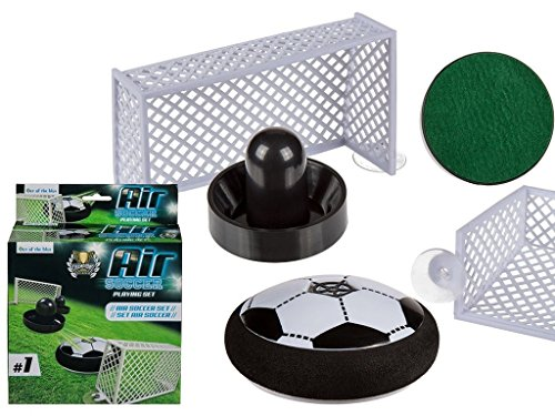 Air Fußball Set Soccer Hover Football Ball mit 2X Toren 5 teilig