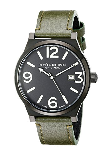 stuhrling-original-aviator-eagle-osprey-orologio-da-polso-display-analogico-uomo-cinturino-in-acciai