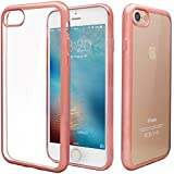 iPhone 7 Hülle,Nakeey iPhone 7 Silikon Hülle Case Clear TPU Schutzhülle Hülle für iPhone 7 Case Cover - Roségold
