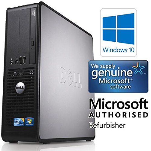 Dell OptiPlex 780 SFF Dual Core 4GB 1000GB Windows 10 64-Bit Desktop PC Computer (Zertifiziert und Generalüberholt) - 2