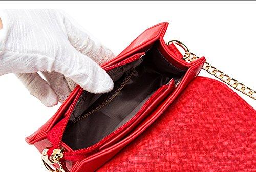 Estate mini pacchetto selvaggio, borsa a tracolla femminile coreana, zaino obliqua, borse, pacchetto catena ( Colore : Nero ) Marrone