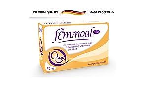 FEMMOAL PLUS Folsäure Schwangerschaft - Vitamine von Kinderwunsch bis Stillzeit - Hergestellt in Deutschland - DHA, Omega-3, Jod, Vitamin b12 & d - 60 Kapseln