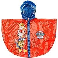 Arditex PW9629- Poncho de Lluvia con Capucha PVC de La Patrulla Canina, Rojo/Azul 22x 5x 30cm
