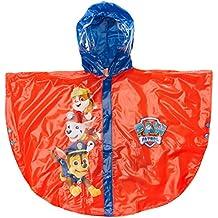 Arditex PW9629 - Poncho de Lluvia con Capucha PVC de La Patrulla Canina, Rojo/