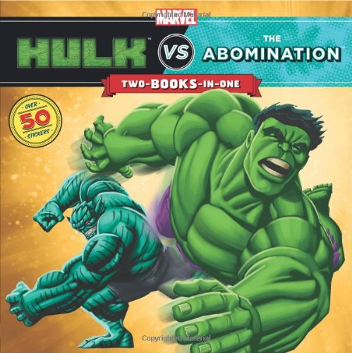 Hulk vs. Abomination/Hulk vs. Wolverine: Two-Books-In-One with Over 50 Stickers (A Marvel Super Hero Vs. Book) por Clarissa S. Wong