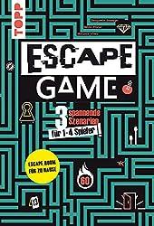 Escape Game : Wirst du entkommen? 3 spannende Szenarien für 1 - 4 Gefangene!